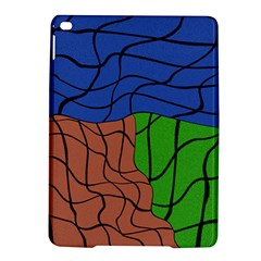 Abstract Art Mixed Colors iPad Air 2 Hardshell Cases