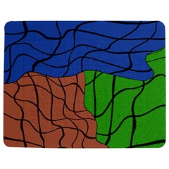 Abstract Art Mixed Colors Jigsaw Puzzle Photo Stand (rectangular)