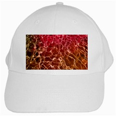 Background Water Abstract Red Wallpaper White Cap