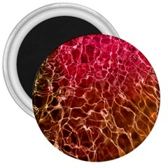 Background Water Abstract Red Wallpaper 3  Magnets