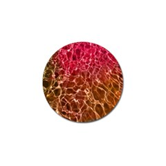 Background Water Abstract Red Wallpaper Golf Ball Marker (10 Pack)