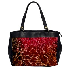 Background Water Abstract Red Wallpaper Office Handbags