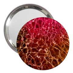 Background Water Abstract Red Wallpaper 3  Handbag Mirrors