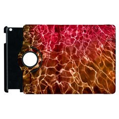 Background Water Abstract Red Wallpaper Apple iPad 3/4 Flip 360 Case