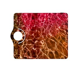 Background Water Abstract Red Wallpaper Kindle Fire HDX 8.9  Flip 360 Case