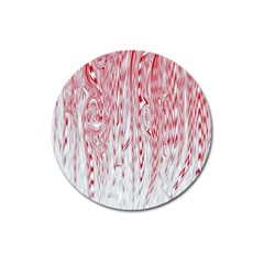 Abstract Swirling Pattern Background Wallpaper Pattern Magnet 3  (round)