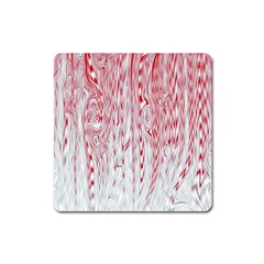 Abstract Swirling Pattern Background Wallpaper Pattern Square Magnet