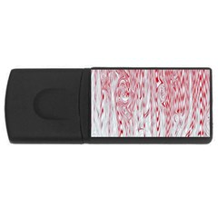 Abstract Swirling Pattern Background Wallpaper Pattern USB Flash Drive Rectangular (1 GB)
