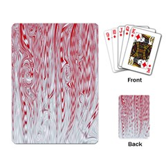 Abstract Swirling Pattern Background Wallpaper Pattern Playing Card