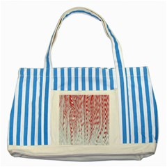 Abstract Swirling Pattern Background Wallpaper Pattern Striped Blue Tote Bag