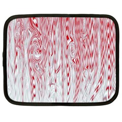 Abstract Swirling Pattern Background Wallpaper Pattern Netbook Case (XL)