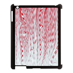 Abstract Swirling Pattern Background Wallpaper Pattern Apple iPad 3/4 Case (Black)