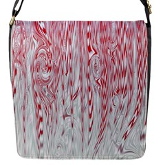 Abstract Swirling Pattern Background Wallpaper Pattern Flap Messenger Bag (s)