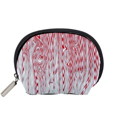 Abstract Swirling Pattern Background Wallpaper Pattern Accessory Pouches (Small)