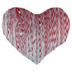 Abstract Swirling Pattern Background Wallpaper Pattern Large 19  Premium Flano Heart Shape Cushions