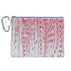 Abstract Swirling Pattern Background Wallpaper Pattern Canvas Cosmetic Bag (xl)
