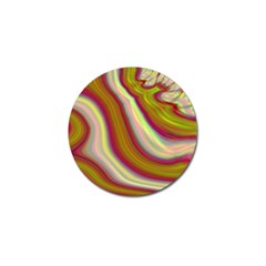 Artificial Colorful Lava Background Golf Ball Marker (10 pack)
