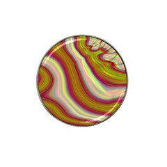 Artificial Colorful Lava Background Hat Clip Ball Marker (10 Pack)