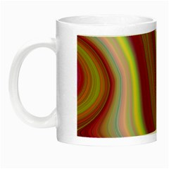 Artificial Colorful Lava Background Night Luminous Mugs