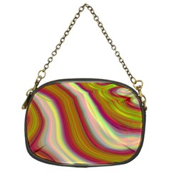 Artificial Colorful Lava Background Chain Purses (two Sides)