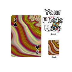 Artificial Colorful Lava Background Playing Cards 54 (mini)