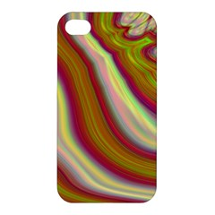 Artificial Colorful Lava Background Apple Iphone 4/4s Hardshell Case