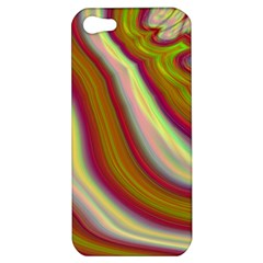 Artificial Colorful Lava Background Apple iPhone 5 Hardshell Case