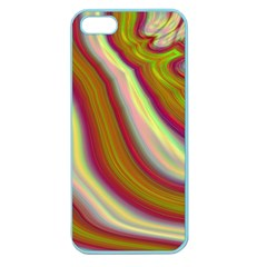 Artificial Colorful Lava Background Apple Seamless iPhone 5 Case (Color)