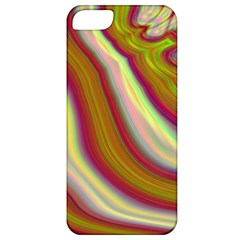 Artificial Colorful Lava Background Apple iPhone 5 Classic Hardshell Case