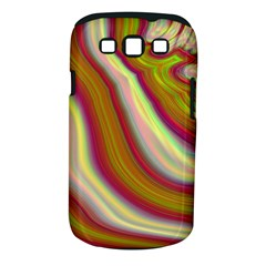 Artificial Colorful Lava Background Samsung Galaxy S III Classic Hardshell Case (PC+Silicone)