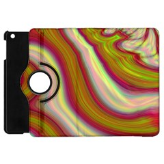 Artificial Colorful Lava Background Apple iPad Mini Flip 360 Case