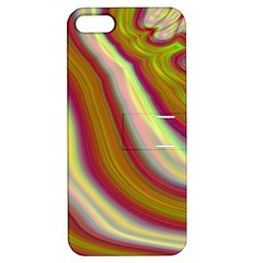 Artificial Colorful Lava Background Apple iPhone 5 Hardshell Case with Stand