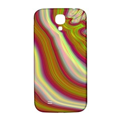 Artificial Colorful Lava Background Samsung Galaxy S4 I9500/I9505  Hardshell Back Case