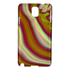 Artificial Colorful Lava Background Samsung Galaxy Note 3 N9005 Hardshell Case
