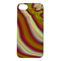 Artificial Colorful Lava Background Apple iPhone 5S/ SE Hardshell Case