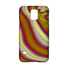 Artificial Colorful Lava Background Samsung Galaxy S5 Hardshell Case