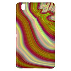 Artificial Colorful Lava Background Samsung Galaxy Tab Pro 8.4 Hardshell Case