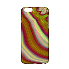 Artificial Colorful Lava Background Apple iPhone 6/6S Hardshell Case