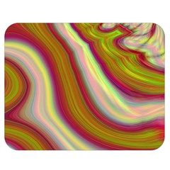 Artificial Colorful Lava Background Double Sided Flano Blanket (medium)