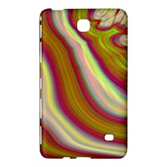 Artificial Colorful Lava Background Samsung Galaxy Tab 4 (8 ) Hardshell Case