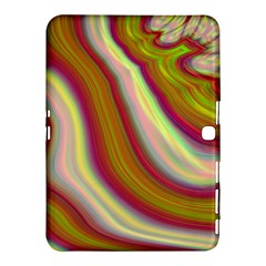 Artificial Colorful Lava Background Samsung Galaxy Tab 4 (10.1 ) Hardshell Case