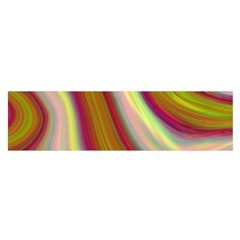 Artificial Colorful Lava Background Satin Scarf (oblong)