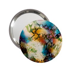 Abstract Color Splash Background Colorful Wallpaper 2.25  Handbag Mirrors