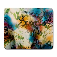 Abstract Color Splash Background Colorful Wallpaper Large Mousepads