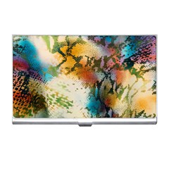 Abstract Color Splash Background Colorful Wallpaper Business Card Holders