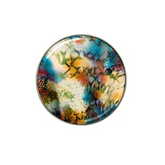 Abstract Color Splash Background Colorful Wallpaper Hat Clip Ball Marker