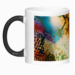 Abstract Color Splash Background Colorful Wallpaper Morph Mugs