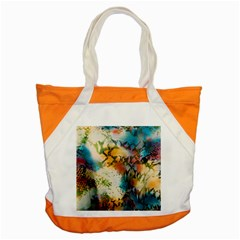 Abstract Color Splash Background Colorful Wallpaper Accent Tote Bag