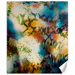 Abstract Color Splash Background Colorful Wallpaper Canvas 20  x 24