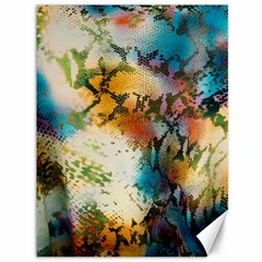 Abstract Color Splash Background Colorful Wallpaper Canvas 36  X 48